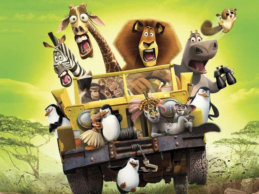 Madagaskar 2 (2008) - kontynuacja przygód zwierzaków