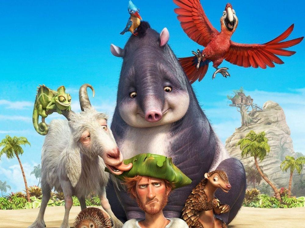 Robinson Crusoe - animowany film przygodowy
