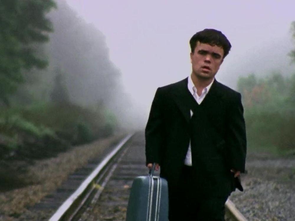 Dróżnik – opuszczona stacja kolejowa i karzeł