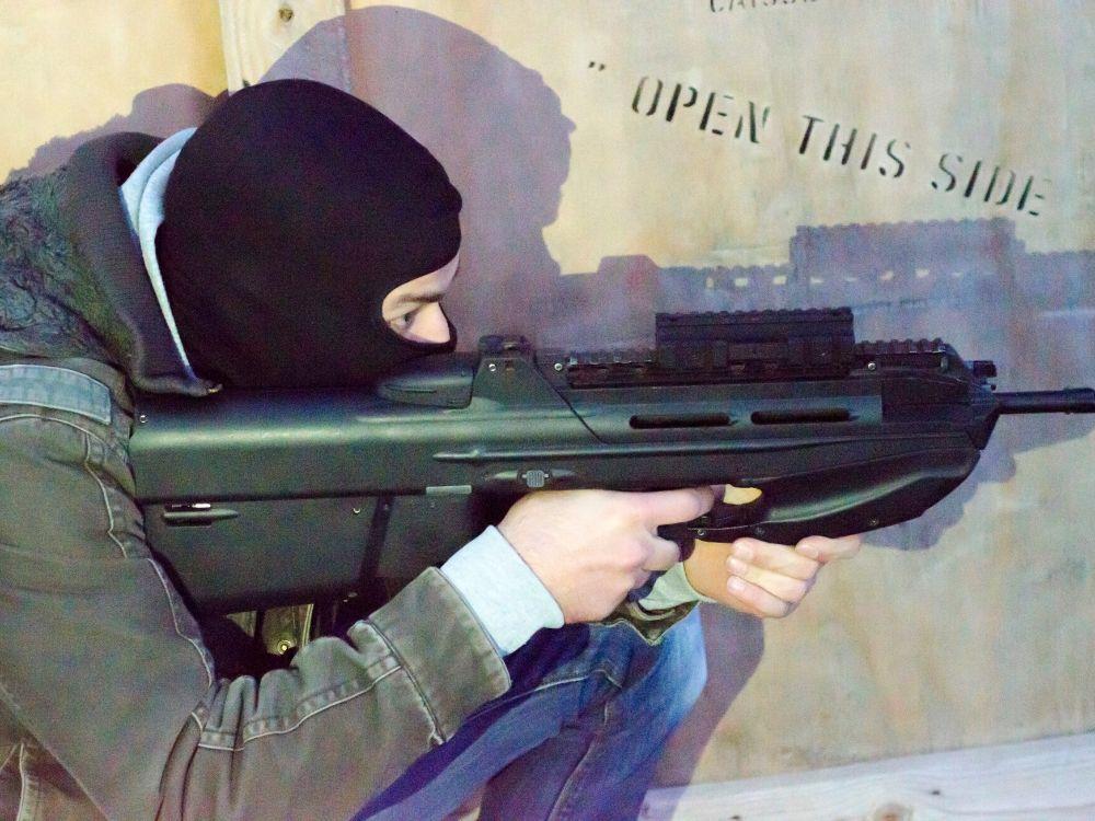 Symulowany atak terrorystyczny na szkołę. Niektóre dzieci do dziś boją się tam wrócić
