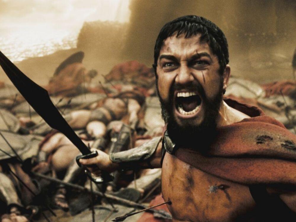 300 - opowieść o bohaterskich Spartanach