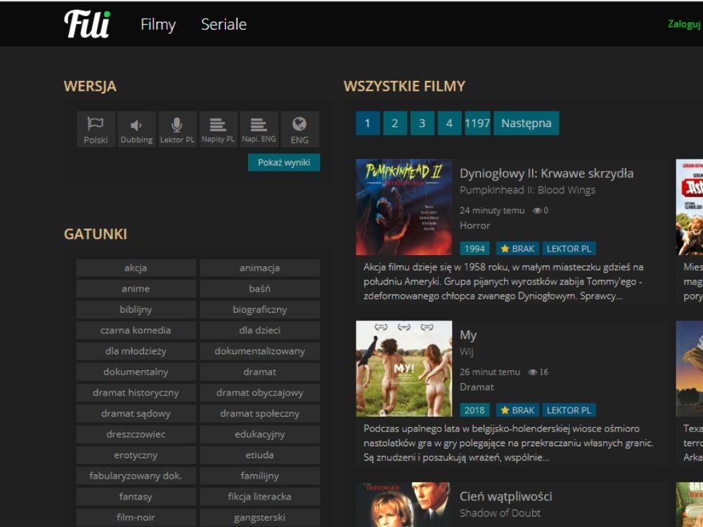 FILI - Filmy i seriale online | FILI.CC