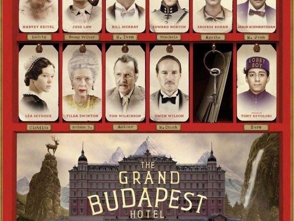 Grand Budapest Hotel (2014) - perypetie legendarnego konsjerża
