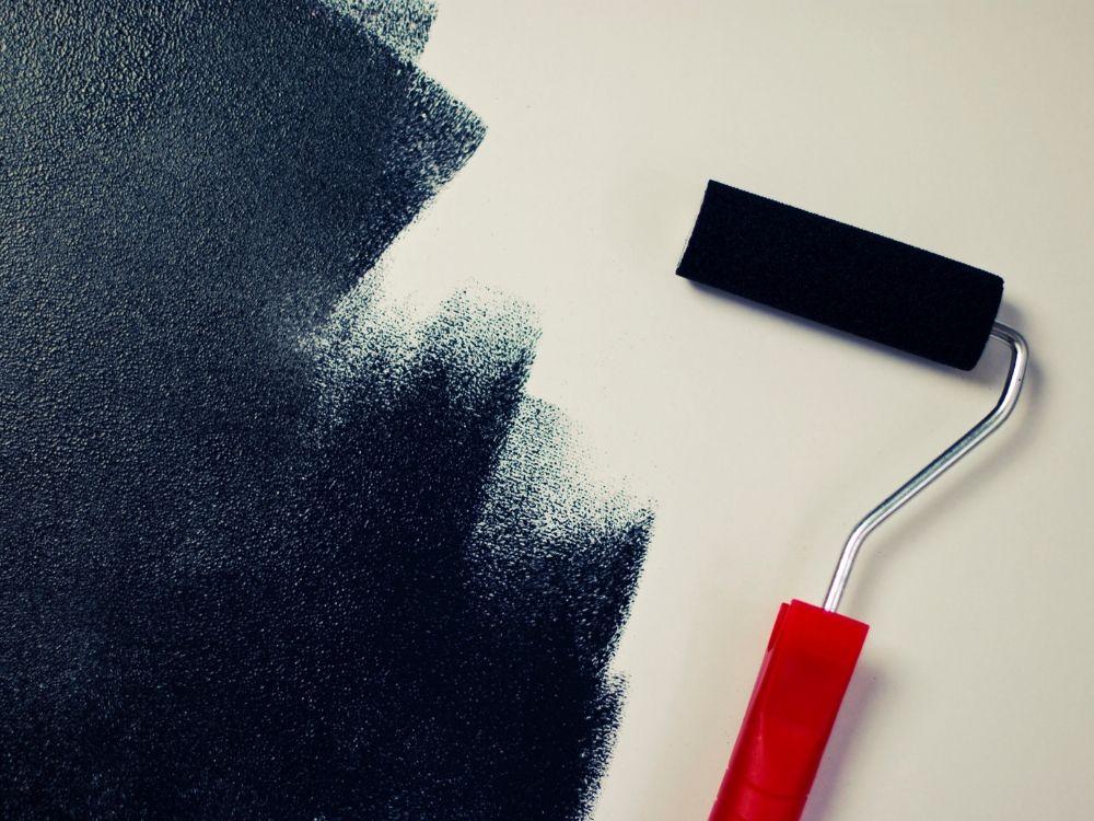 Malowanie ścian krok po kroku.
