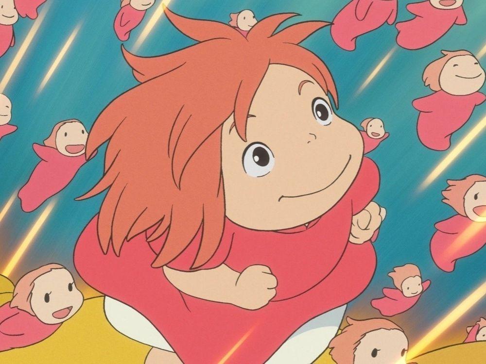 Ponyo - marzenie o byciu człowiekiem