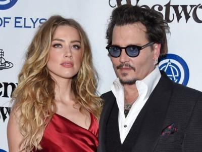 Amber Heard biła Johnny'ego Deppa! Ujawniono kompromitujące nagrania