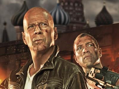 Szklana pułapka 5 (2013) - ojciec i syn w akcji