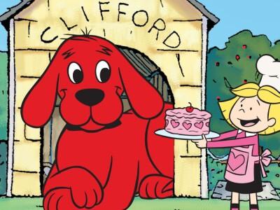 Clifford: Wielki Czerwony Pies - miłośćEmily zamieniła pieska w olbrzyma