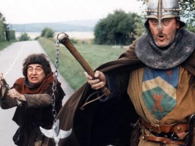 Goście, goście (1993) - przybysze ze średniowiecza