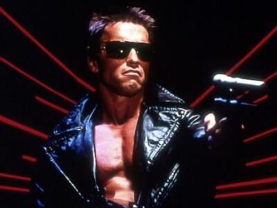 Terminator - Arnold Schwarzenegger jako android