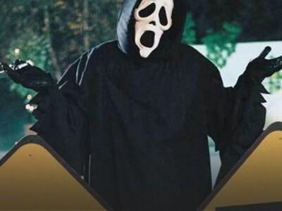 Straszny Film - tajemniczy, zamaskowany morderca