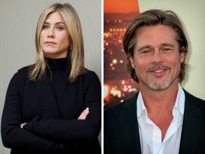 Brad Pitt i Jennifer Aniston do siebie wrócili? Podobno są na to dowody
