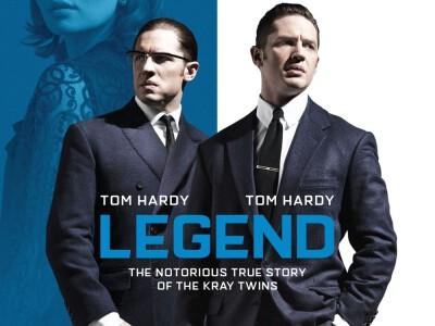 Legend - kapitalna podwójna rola Toma Hardy'ego