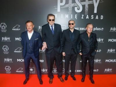 """Tłum gwiazd na premierze filmu """"Psy 3. W imię zasad"""""""