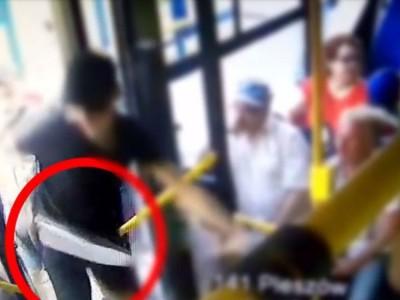 Brutalny napad z maczetą na autobus MPK. Zapadł wyrok w tej sprawie