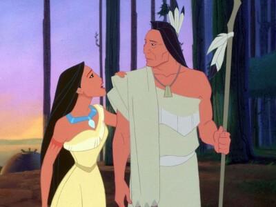 Pocahontas - miłość ponad podziałami
