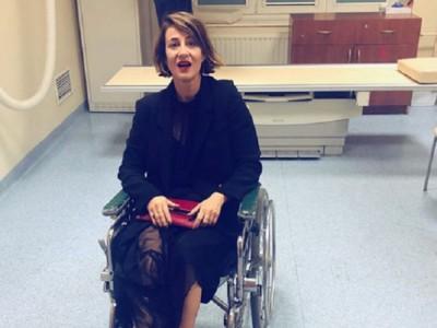 Ostaszewska popłynęła? Twierdzi, że trafiła na wózek inwalidzki przez... RYDZYKA!