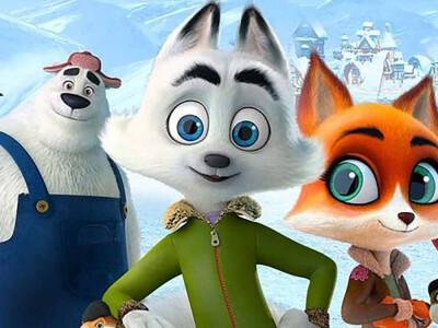 Śnieżna paczka - niespodziewana misja śnieżnego lisa