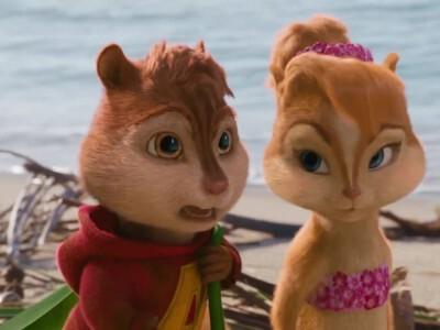 Alvin i wiewiórki - wypromować wiewiórki