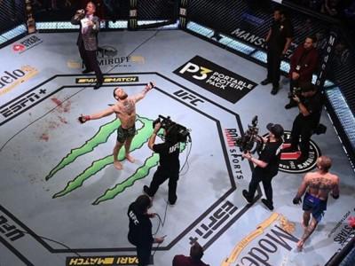 Conor McGregor dosłownie rozniósł swojego rywala
