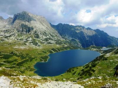 Kobieta nurkowała w Wielkim Stawie w Tatrach