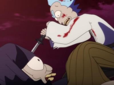 """""""Rick i Morty"""" - powstał krótkometrażowy film w klimacie anime"""