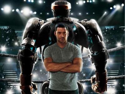 Giganci ze stali (2011) - walki robotów w filmie pełnym akcji