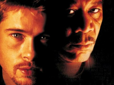 Siedem - Brat Pitt i Morgan Freeman w pogoni za mordercą