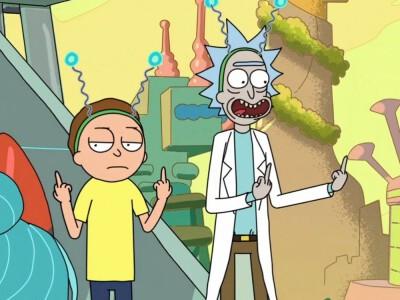 Rick i Morty - ekscentryczny naukowiec i jego wnuk