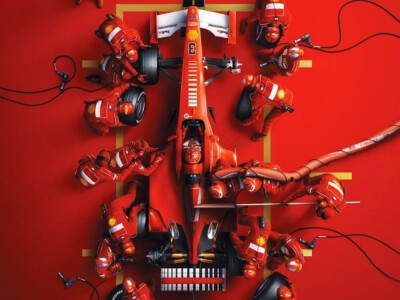 Schumacher - portret sportowca