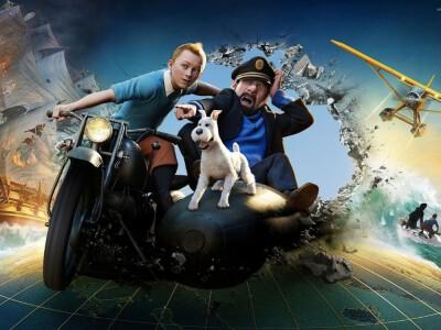 Przygody Tintina - zaginiony statek i klucz do skarbu