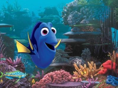 Gdzie jest Dory - historia pociesznej, niebieskiej rybki
