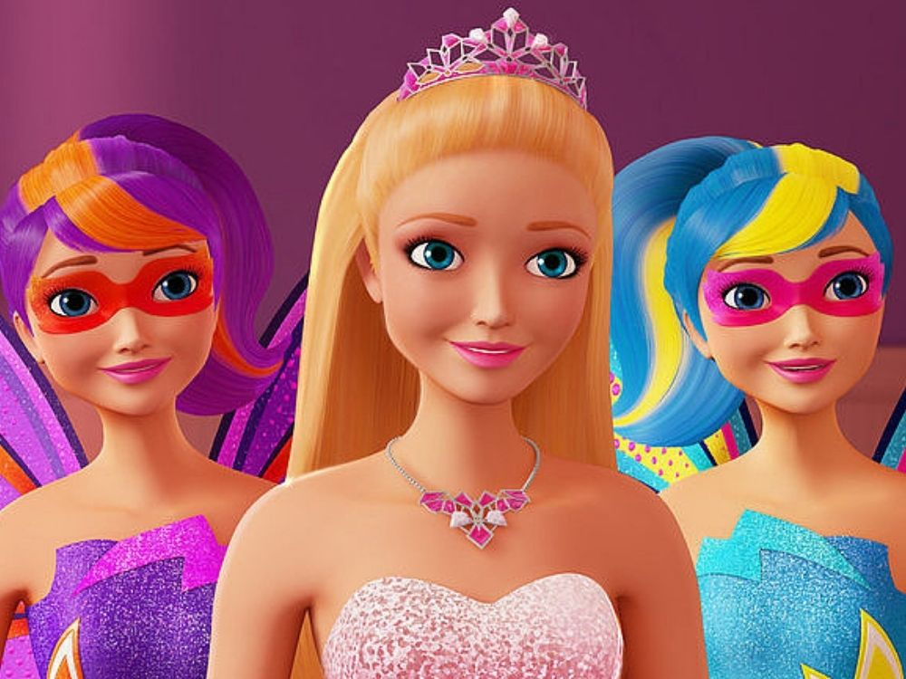 Barbie: Super księżniczki - jak żyć z supermocami?
