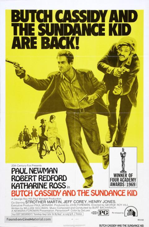 Butch Cassidy i Sundance Kid (1969) online. Obsada, opinie, opis fabuły, zwiastun