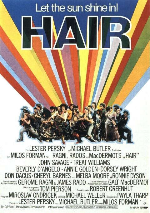 Hair (1979) online. Obsada, opinie, opis fabuły, zwiastun