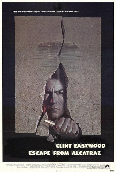 Ucieczka z Alcatraz (1979) online. Obsada, opinie, opis fabuły, zwiastun