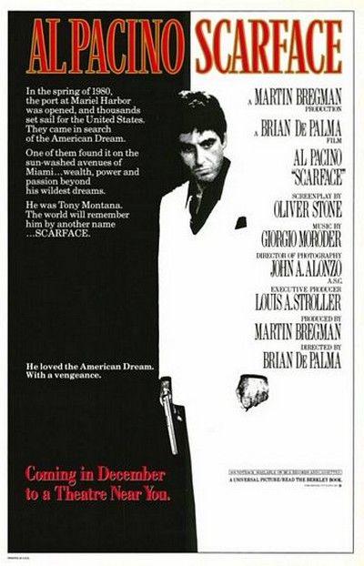 Człowiek z blizną (1983) online. Obsada, opinie, opis fabuły, zwiastun