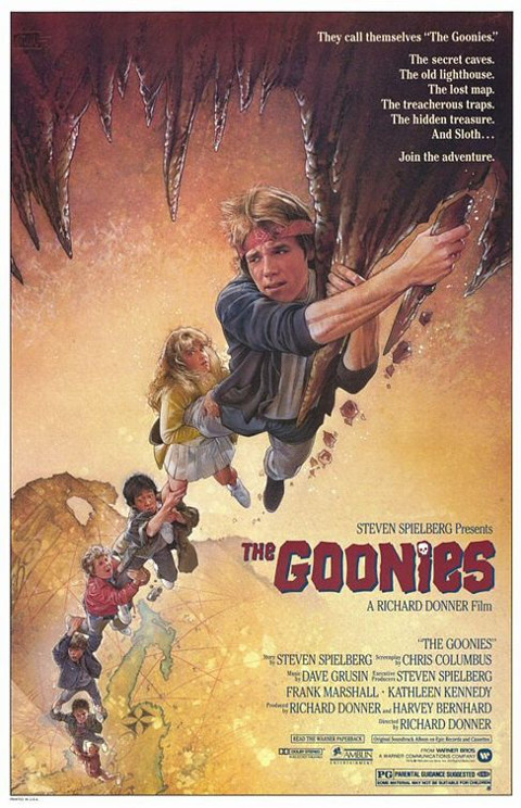 Goonies (1985) online. Obsada, opinie, opis fabuły, zwiastun