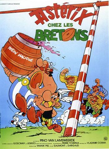 Asterix w Brytanii (1986) online. Obsada, opinie, opis fabuły, zwiastun