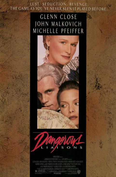 Niebezpieczne związki (1988) online. Obsada, opinie, opis fabuły, zwiastun