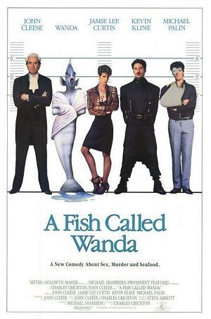 Rybka zwana Wandą (1988) online. Obsada, opinie, opis fabuły, zwiastun