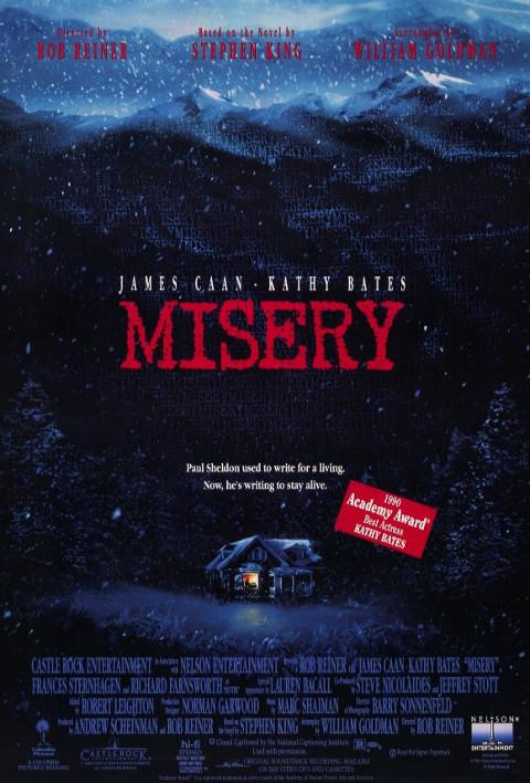 Misery (1990) online. Obsada, opinie, opis fabuły, zwiastun