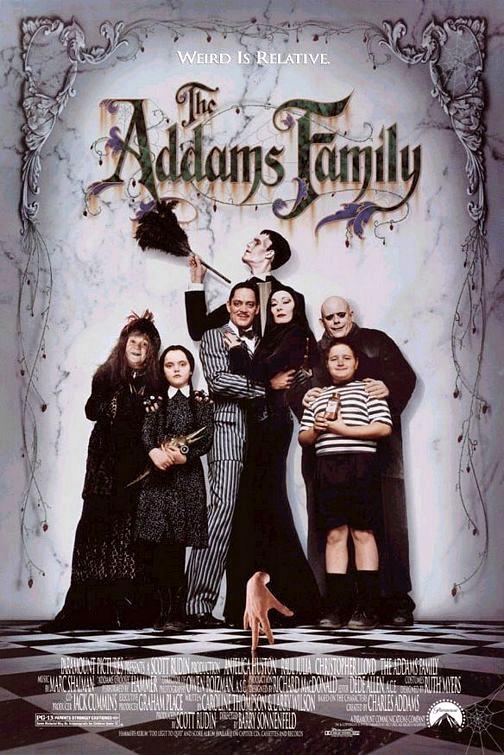 Rodzina Addamsów (1991) online. Obsada, opinie, opis fabuły, zwiastun