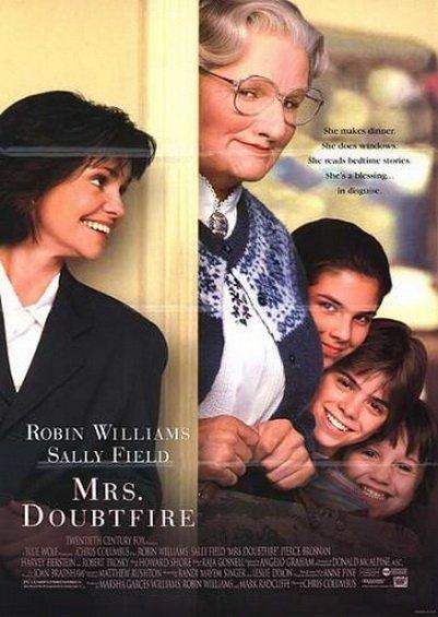Pani Doubtfire (1993) online. Obsada, opinie, opis fabuły, zwiastun