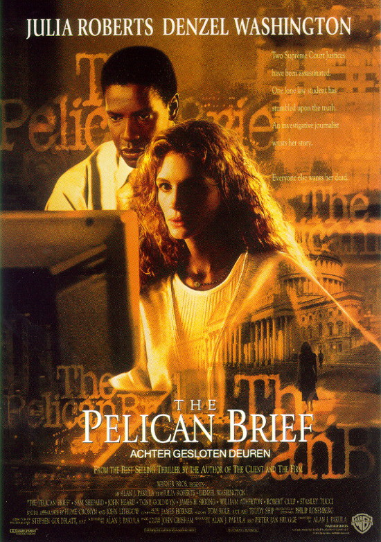 Raport Pelikana (1993) online. Obsada, opinie, opis fabuły, zwiastun