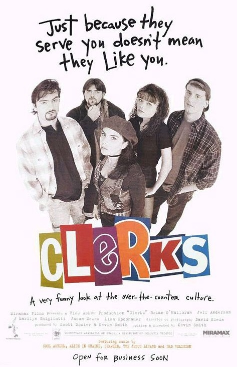 Clerks - Sprzedawcy (1994) online. Obsada, opinie, opis fabuły, zwiastun