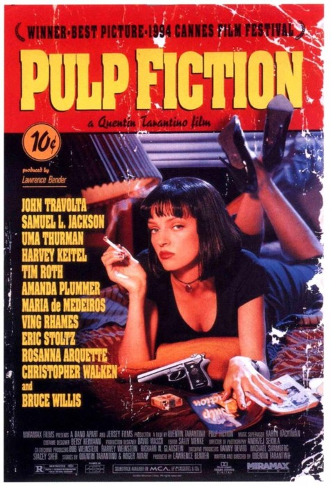 Pulp Fiction (1994) online. Obsada, opinie, opis fabuły, zwiastun