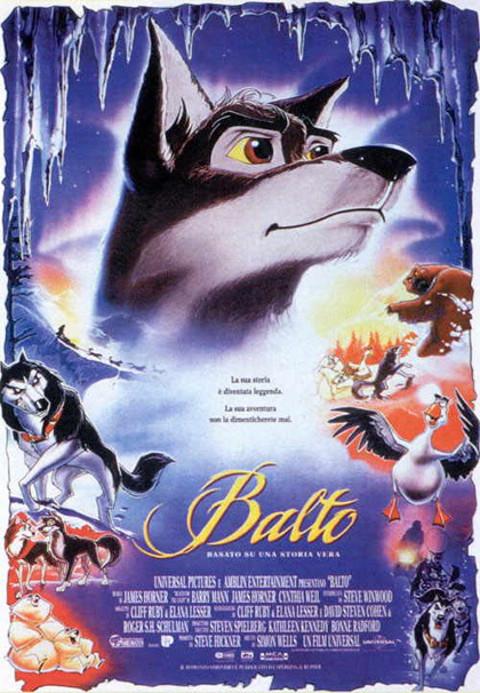Balto (1995) online. Obsada, opinie, opis fabuły, zwiastun