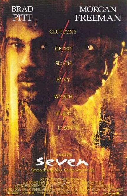 Siedem (1995) online. Obsada, opinie, opis fabuły, zwiastun