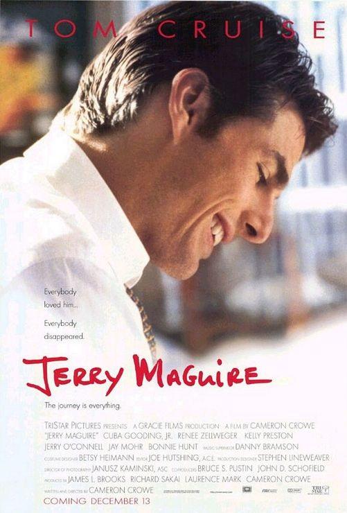 Jerry Maguire (1996) online. Obsada, opinie, opis fabuły, zwiastun
